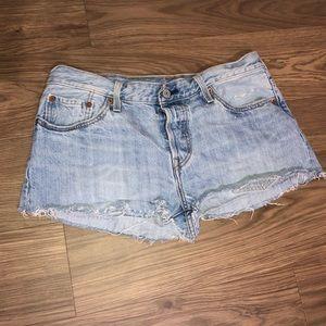 Levi's Cut Shorts